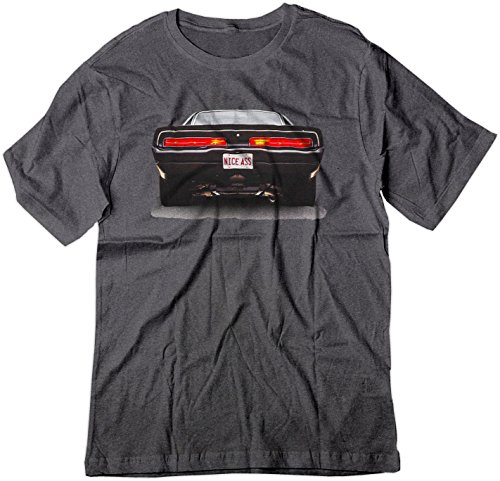 BSW Men's Nice Ass 1969 Dodge Charger V8 American Muscle Shirt XL Dark - Charger Dodge 1969 69