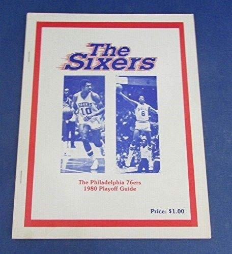 Philadelphia 76ers Sixers 1980 Playoff Guide Press Kit NBA ()