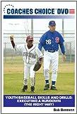 Youth Baseball Skills and Drills: Executing a Rundown (The Right Way)