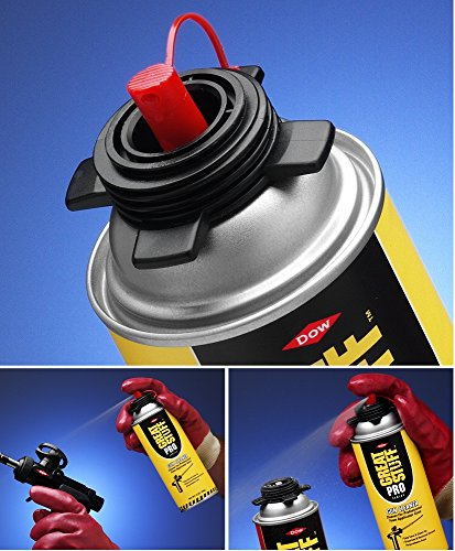 GREAT STUFF PRO Black Plastic Applicator Tool Tip For Pro14 Gun 10//Pk 11029297