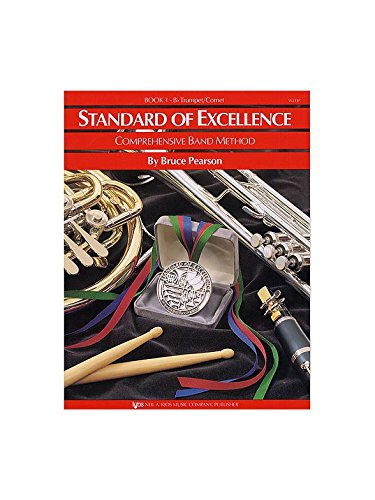 Standard Of Excellence: Comprehensive Band Method Book 1 (B Flat Trumpet/Cornet). Partitions pour Big Band et Groupe De