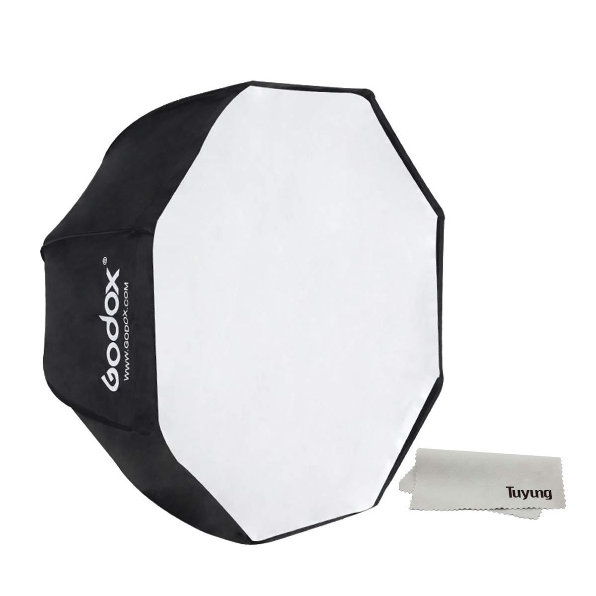 Godox Portable 120cm/47.2'' Umbrella Octagon Softbox Reflector with Carrying Bag for Studio Photo Flash Speedlight by Godox