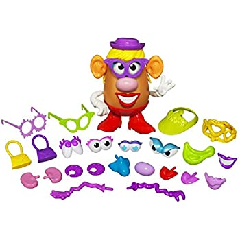 157db9d0259 Playskool Mrs. Potato Head Silly Suitcase Parts and Pieces Toddler Toy for  Kids