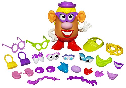 (Playskool Mrs. Potato Head Silly Suitcase Parts and Pieces Toddler Toy for Kids (Amazon Exclusive))