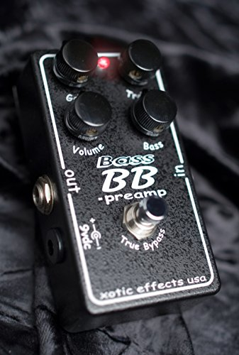 Xotic Effects Bass BB Preamp Distortion/Booster Bass Effects Pedal by Xotic Effects