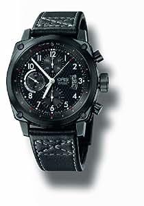 Oris Men's 674 7633 4764LS BC4 Chronograph Automatic Black Dial Watch