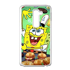 Lovely SpongeBob SquarePants Cell Phone Case for LG G2