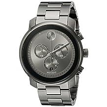 Movado Men's 3600277 Analog Display Swiss Quartz Grey Watch