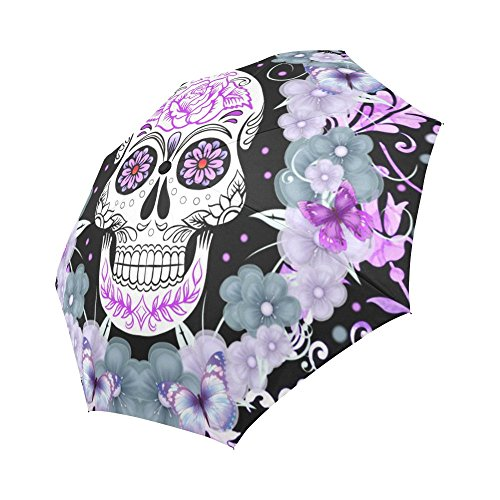 your-fantasia Sugar Skull and Flowers Auto