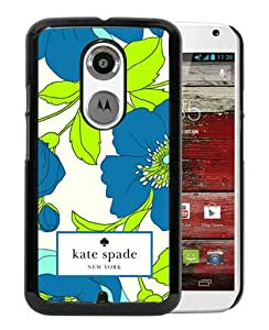 Abstract Design Motorola Moto X 2nd Case,Kate Spade 19 Black Custom Motorola Moto X 2nd Generation Phone Case