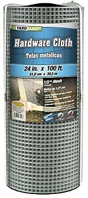 G & B 308246BP Mesh Hardware Cloth, 2-Feet by 100-Feet by 1/2-Inch from Jensen Distributing - Lawn & Garden