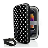 USA Gear Hard Protective Thermal Imager Carrying Case Works with FLIR C2, C3, Reveal, XR, PRO, Fastframe XR and More Thermal Imagers - Polka Dot