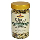 Khadi Organic Omega 369 Roasted Salted Mix Seeds 125 GM - 100% Natural, Gluten-Free, High-Fibre, Healthy Organic Food Rich in Omega 369