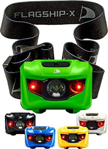 Insane Sale Flagship-X Waterproof CREE LED Camping Headlamp Flashlight For Running Green