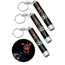 Five Nights at Freddy's Mini FrightLight Projector Keychains Blind Bag Pack of 3
