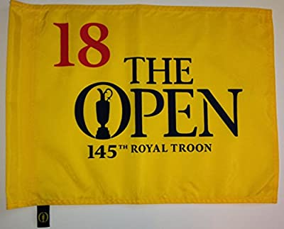 2016 BRITISH OPEN Royal Troon Golf Tournament Pin FLAG Pga