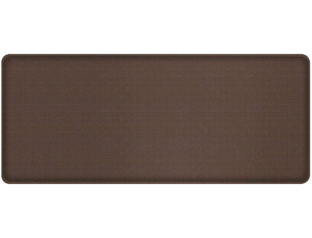 Gelpro Plush Floor Mat, 20x72, Linen Truffle 105-22-2072-2