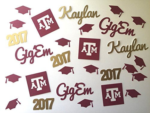 texas-am-aggies-personalized-graduation-custom-confetti-2017-graduation-caps-gig-em-name-confetti