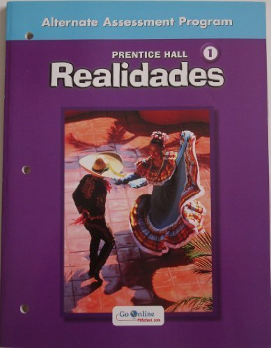 Realidades 1 Alternate Assessment Program (Paperback)