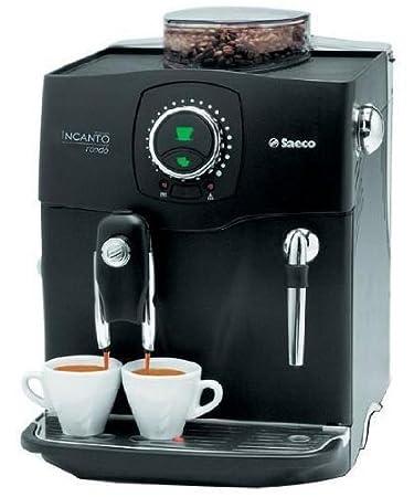 Saeco Incanto Rondo Plus - Cafetera automática Plata: Amazon.es: Hogar