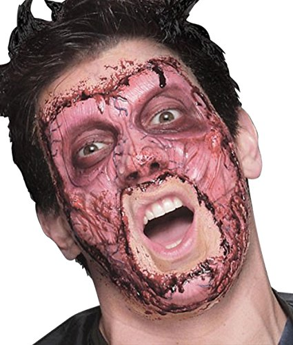 [Woochie by Cinema Secrets Men's Skinned Foam Prosthetic with FX Pro Accessory Kit] (Prosthetic Fx Makeup Halloween Masks)