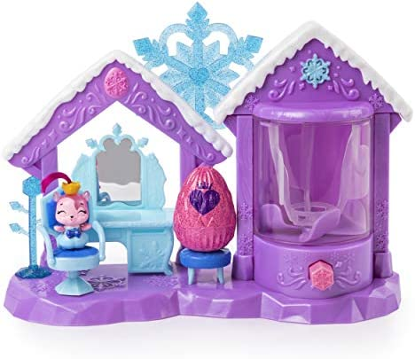 Hatchimals CollEGGtibles Glitter Salon Playset2 Exclusive for Kids Aged 5 and Up