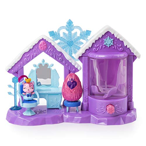 Hatchimals Colleggtibles, Glitter Salon Playset with 2 Exclusive for Kids Aged 5 & Up (Glitter Clearance)