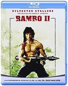 Rambo 2 (Blu-Ray Import) (European Format - Region B)