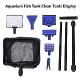 Toopify Aquarium Fish Tank Clean Tools, 6 in 1