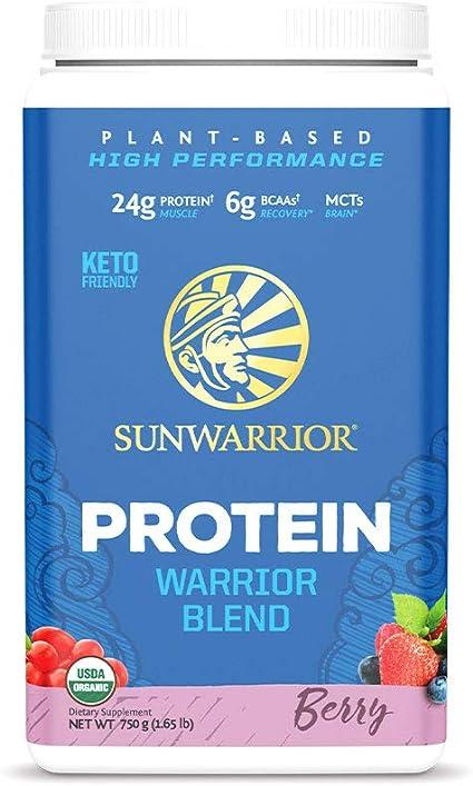 Sunwarrior Warrior Blend Berry - 750 gr