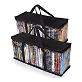 Besti Home DVD Storage Bags (2-Pack) Holds 80 Total Movies or Video Games