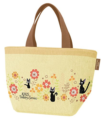Kiki From Kiki's Delivery Service Costume (Ghibli Kiki Delivery Service Gerbera sweatshirt fabric lunch bag From Japan New)