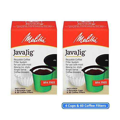 OKSLO 63228 javajig starter kit (2-pack) single serve hine coffee filters kit