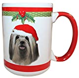 E&S Pets Lhasa Apso Mug, 15 oz