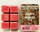 Fruity Pebbles - Scented All Natural Soy Wax Melts - 6 Cube Clamshell 3.2oz DOUBLE SCENTED!