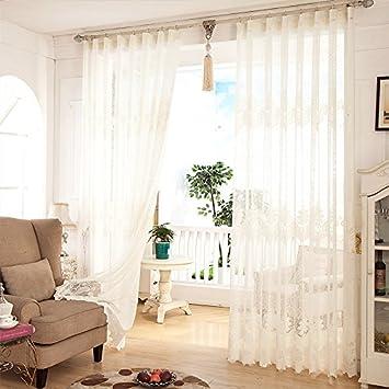 SQDJJCL Transparent Braun Wohnzimmer Vorhänge Fenster Vorhänge Fenster Im  Restaurant Moderne, Minimalistische Custom Fertigen