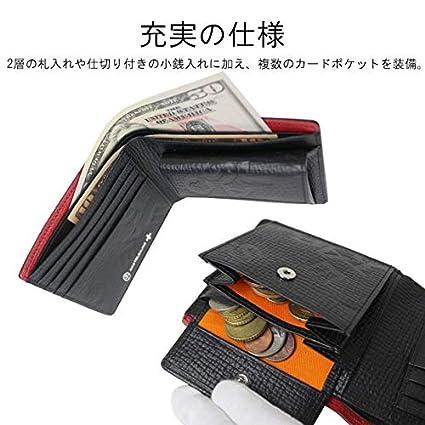 CASTELBAJAC Piccolo Bi-fold wallet 022614 orange