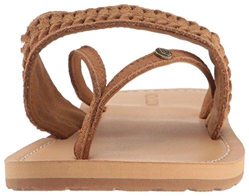 Volcom Costa Womens Sandal Tan Tan