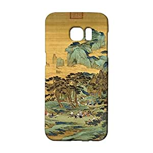 Colorful 3D Design for Samsung Galaxy S7 Edge Phone Case Chinese Element Skin for Samsung Galaxy S7 Edge Back Cover