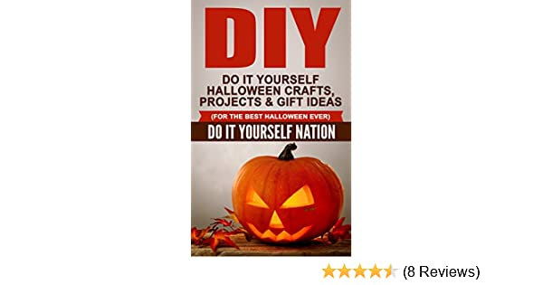 amazon com diy do it yourself halloween crafts projects gift