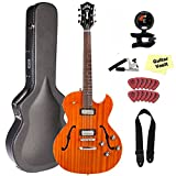 Guild Starfire II ST Hollowbody Guitar, Natural, with Deluxe Case and Accessory Kit