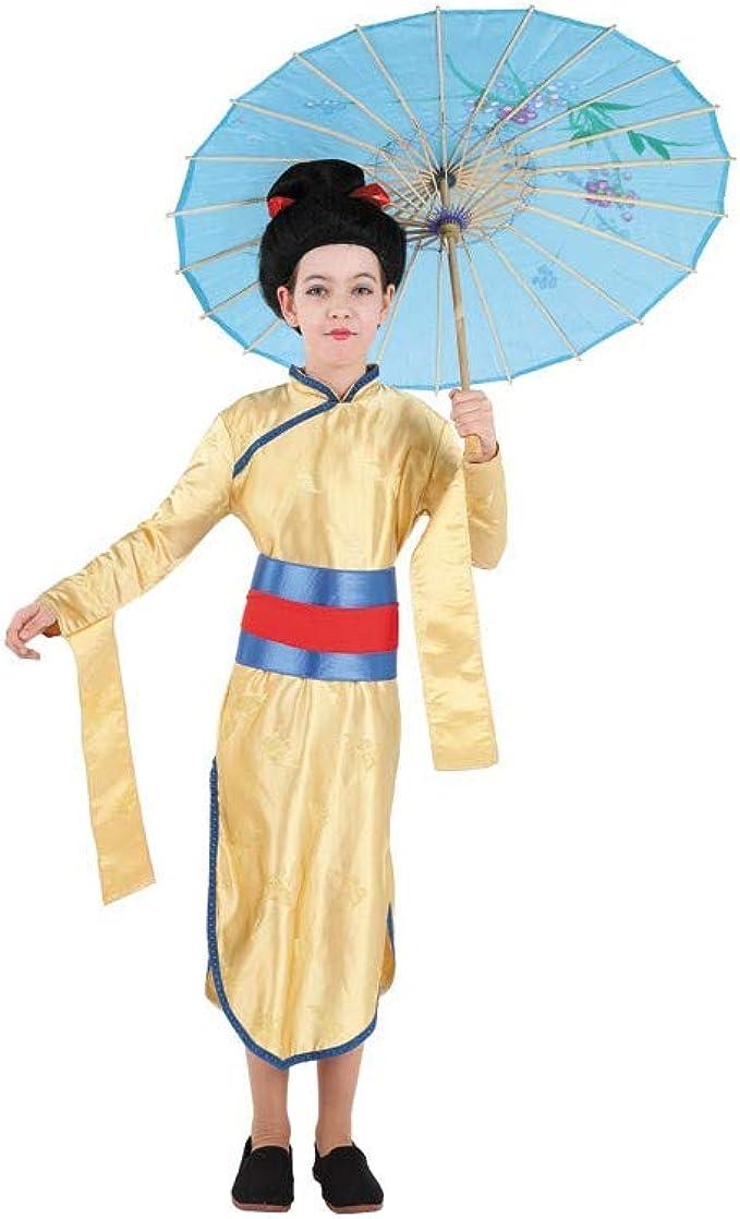 Disfraces FCR - Disfraz de china niña talla 10 años: Amazon.es ...