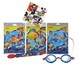 UPD Licensed Swim Sets! Pool Toys Bundle! Swim Ring, Arm Floats, Beach Ball
