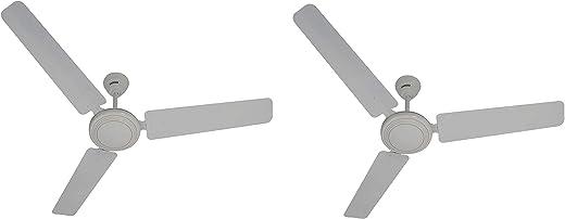 Usha Sonata 1200mm Ceiling Fan (White) Pack of 2