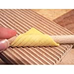 Eppicotispai EP-89 Garganelli and Gnocchi Stripper with Paddle, Natural Beechwood, Brown 10 Made of Beechwood Wooden paddle is the perfect item to curl your garganelli Wooden ridges provides traditional look to both your gnocchi and garganelli