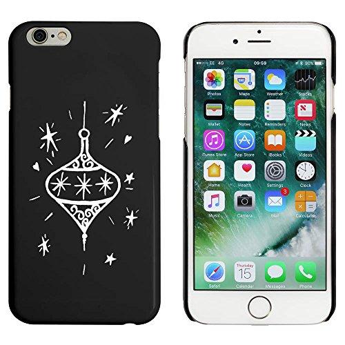 Noir 'Boule de Noël' étui / housse pour iPhone 6 & 6s (MC00090394)
