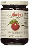 D'Arbo All Natural Fruit Spread Marasque Sour Cherry, 16 Ounce