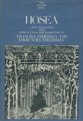 Hosea: 24 (Anchor Bible)