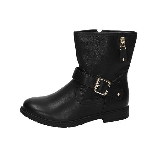 BONINO BT2732A-12 Botitas Negras NIÑA Botas-Botines: Amazon.es: Zapatos y complementos