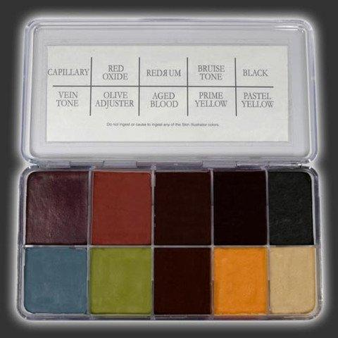 Skin Illustrator Rob Benevides Custom Collection Fleshtone Palette by Skin Illustrator (Image #1)